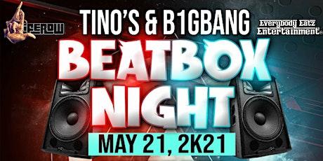 Tino&B1gBang's BeatBox Fight Night tickets