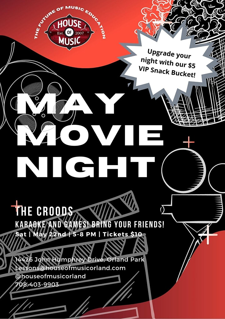 May 2021 Movie Night image