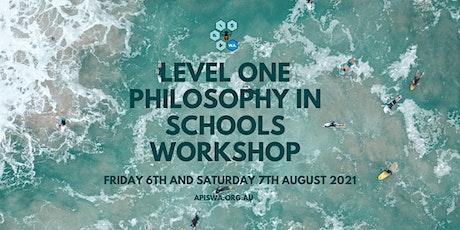 Level One Philosophy in Schools Workshop tickets