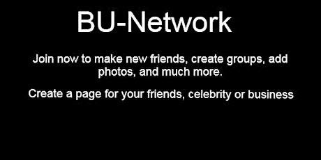 Social Media Platform- BU-Network-www.be-uni.com tickets