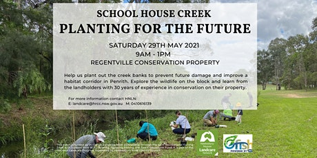 Planting for the Future at School House Creek tickets