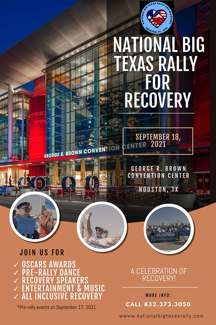 National Big Texas Rally for Recovery 2021 image
