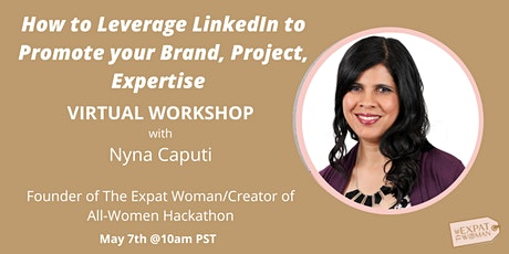 How to Leverage LinkedIn to Promote your Brand, Project and Expertise tickets