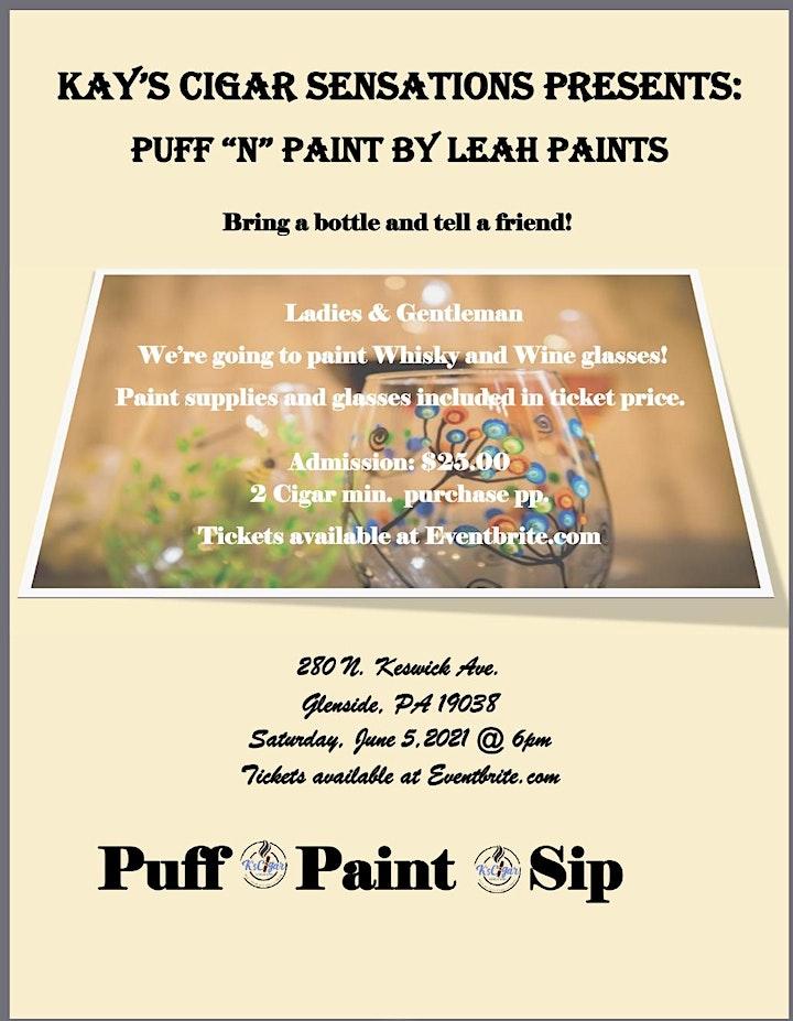 """Puff """"N"""" Paint by Leah Paints image"""