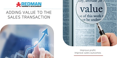 Adding value to the sales transaction tickets