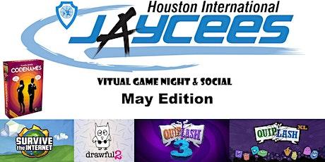 Virtual Game Night & Social May Edition tickets