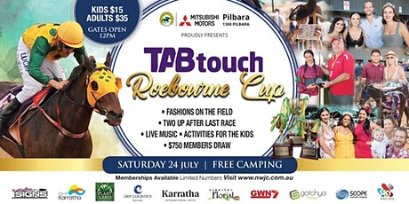 Roebourne Races 2021 | TAB Touch Roebourne Cup tickets
