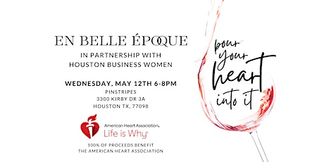 2021 Pour Your Heart Into It - Benefitting the American Heart Association tickets