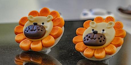 Safari Animal cookies and Cupcakes tickets