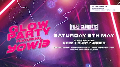 Project 4825: Glow Party Ft. YOWI3 tickets