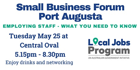 Small Business Forum - Port Augusta tickets