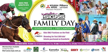 Roebourne Races 2021 | Karratha Signs Family Day tickets