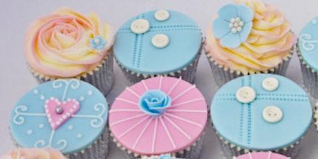 Elegant cupcake workshop tickets