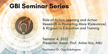 GBI Seminar Series: Role of Action Learning and Action Research..... tickets