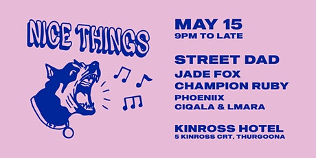 NICETHINGS x STREET DAD: 2021 tickets