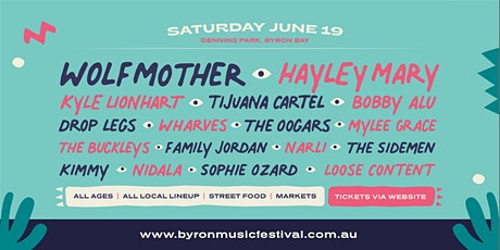 Byron Music Festival 2021(Main Event) tickets
