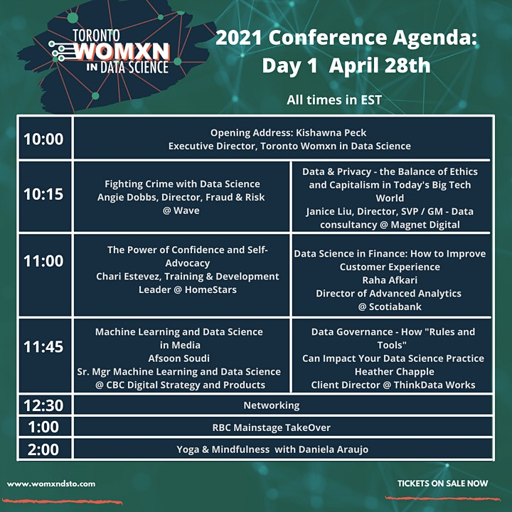 Toronto Womxn in Data Science Conference 2021 image