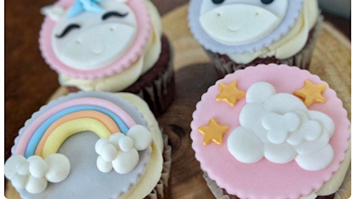 Unicorn cupcake workshop image