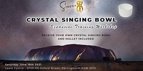 Crystal Singing Bowl Expansive Training workshop at The LEELA CENTRE Sydney tickets