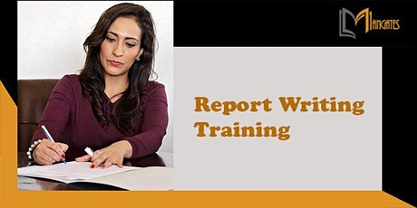 Report Writing 1 Day Virtual Live Training in London City tickets