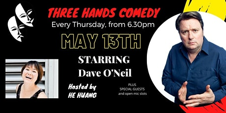 Three Hands Comedy- Starring Dave O'Neil tickets