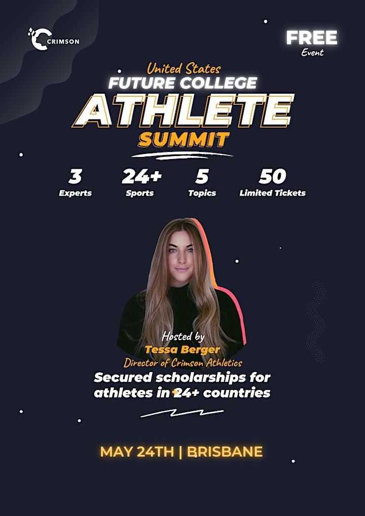 Future College Athlete Summit - Brisbane image