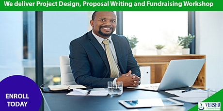 Project Design, Proposal Writing and Fundraising Training tickets