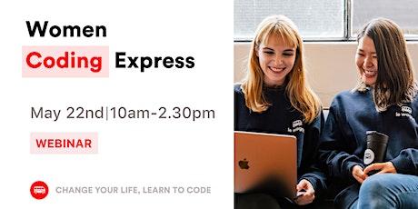 Women Coding Express billets