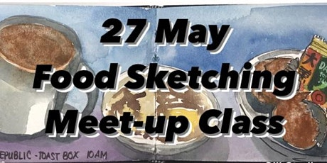 Food Sketching Meetup Class tickets