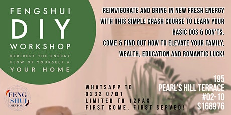 Feng Shui DIY Workshop tickets