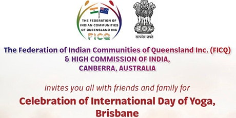 """FICQ & High Comission of India invites you to """"INTERNATIONAL DAY OF YOGA"""" tickets"""