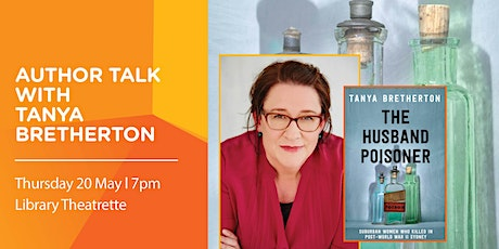 Author Talk with Tanya Bretherton tickets