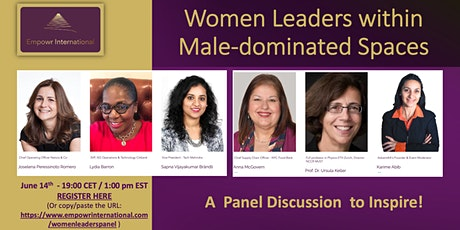 Women Leaders within Male-Dominated Spaces tickets
