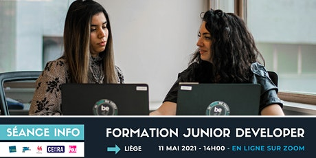 BeCode Liège - Séance info  - Développement web billets