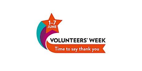 Volunteers' Week 2021: Impact Reel tickets