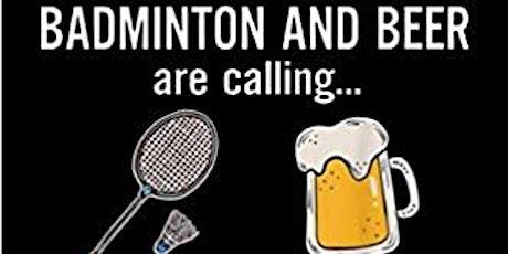 WEST507 - Badminton and Beer in het Park tickets