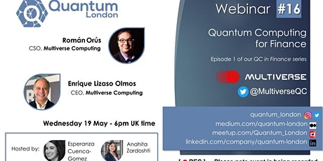 Quantum Computing for Finance tickets