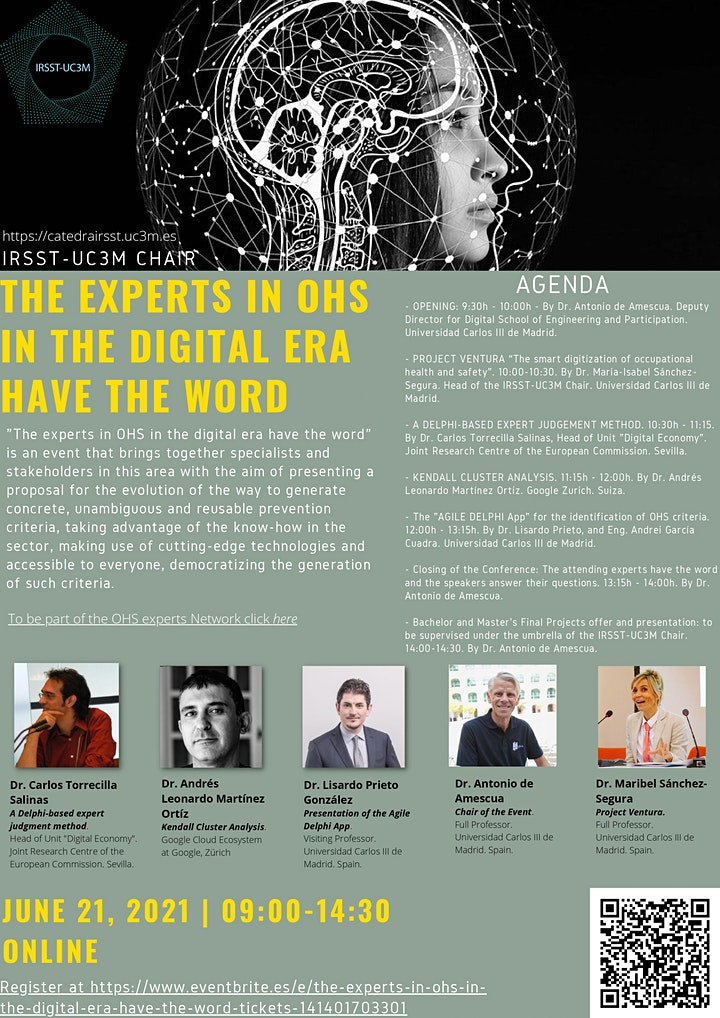 The experts in OHS in the digital era have the word image