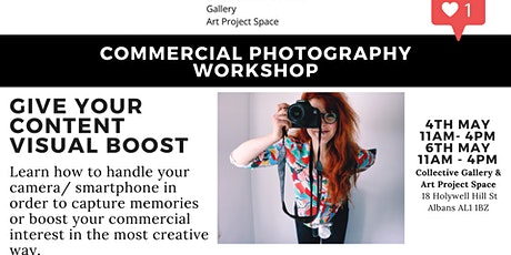 Commercial Photography Workshop tickets