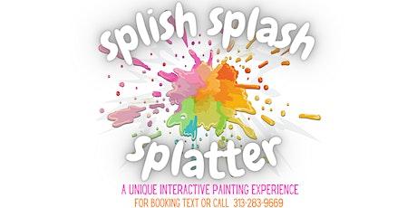SplishSplashSplatter: Balloon Splatter An Interactive Paint Experience tickets