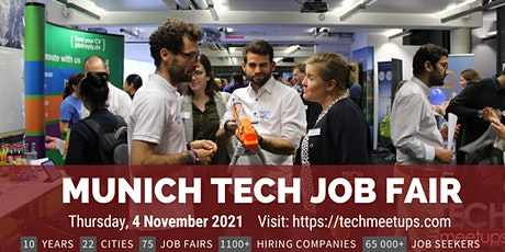 Munich Tech Job Fair Tickets