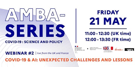 """COVID & AI : Unexpected challenges and lessons"" tickets"