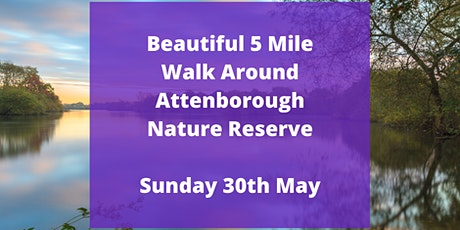 Easy 5 mile Attenborough Nature Reserve tickets