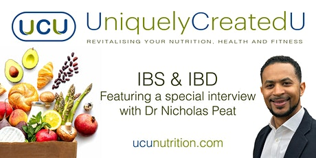 IBS & IBD - featuring a special interview with Dr Nicholas Peat tickets