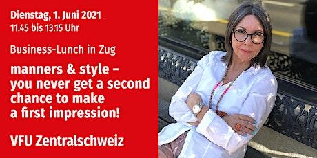 Business-Lunch, Zentralschweiz, 1.06.2021 billets