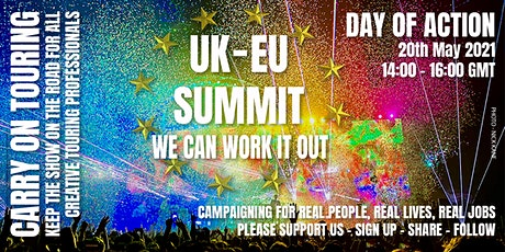 Carry on Touring: UK/EU Summit tickets
