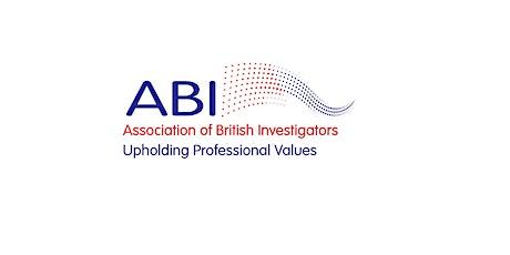 ABI Northern Branch Meeting tickets