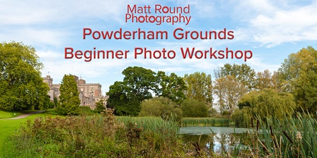 Powderham  Castle grounds Photo workshops tickets