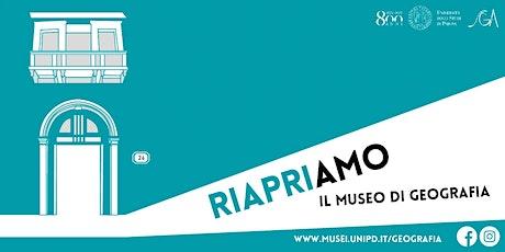 Visite guidate gratuite al Museo di Geografia (maggio-giugno) biglietti