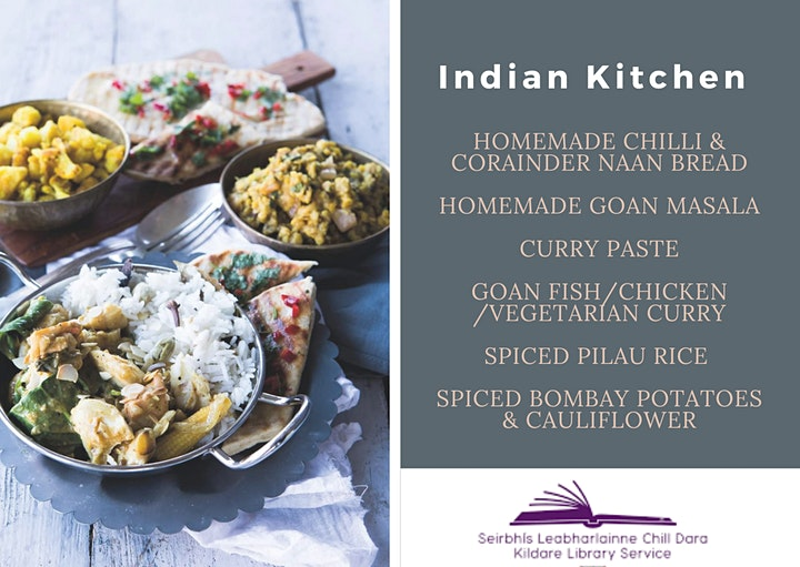 Indian Kitchen Cook-A-Long Demonstration with East Coast Cookery School image
